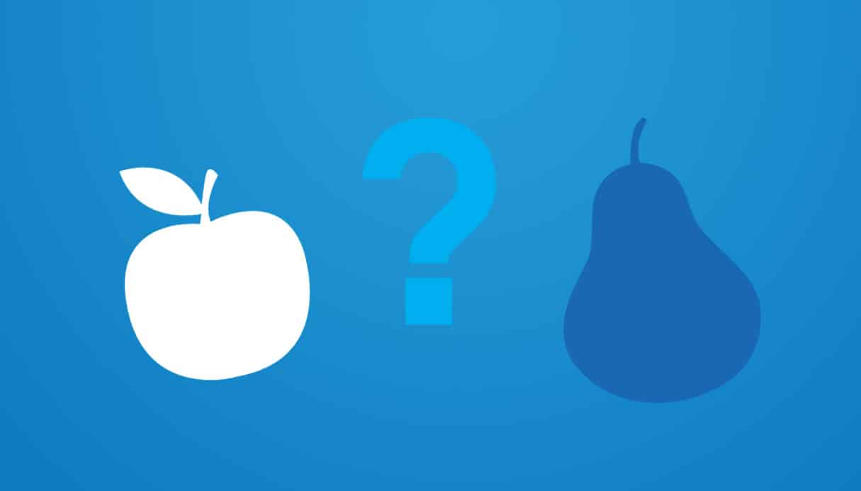 Apples or pears? ATS or VMS?