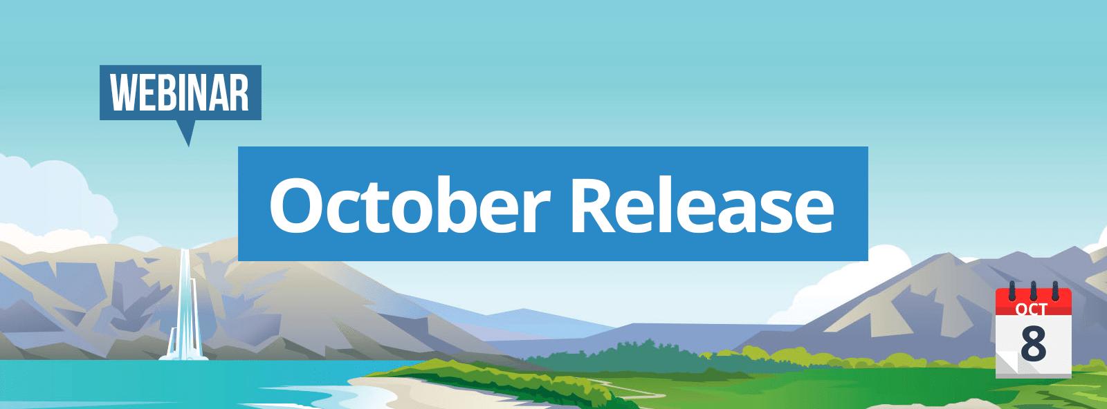 Webinar October Release Netive VMS