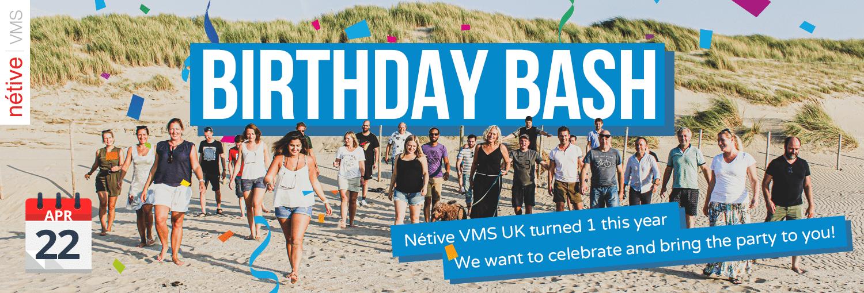 Birthday Bash Netive VMS